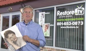"Restore.TV Season 4 - Episode 26: ""Love is all you need"" Rob Craig, when he was little kid he got mad a his mom one day and color her picture with pen! See how Restore.TV help him. The Photo restoration looks Great!!! Play the video to watch  📹"